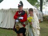 Captain Bob and Miss Sara at Kensington 09 Wedding